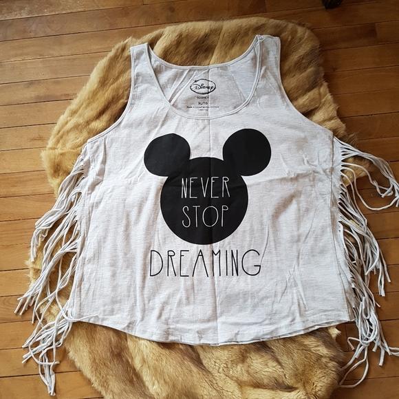 New cute fringe MICKEY MOUSE tank